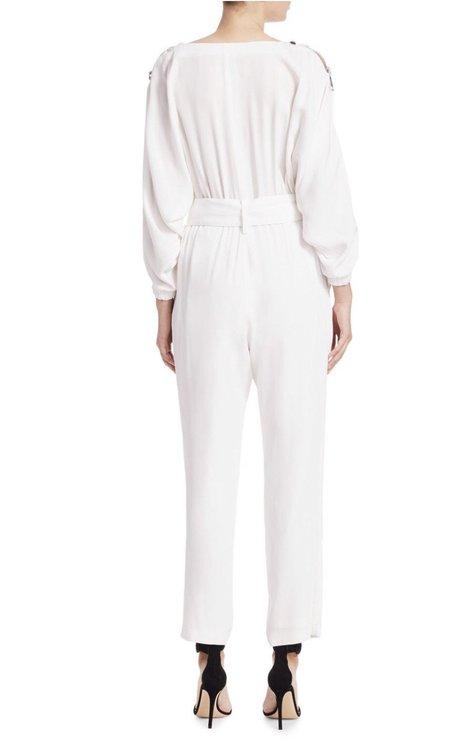 Carolina Ritzler The jumpsuit - White
