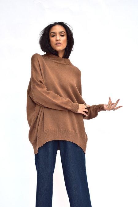 Pari Desai Inez Oversized Sweater - Ginger