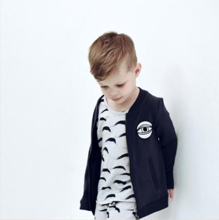 KIDS JAX & HEDLEY Eye Jacket - NAVY
