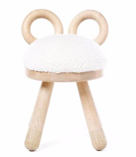 KIDS Elements Optimal Faux Sheep Chair