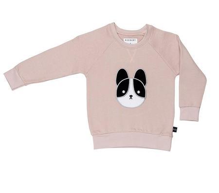 KIDS Huxbaby Frenchie Patch Sweatshirt - Pink