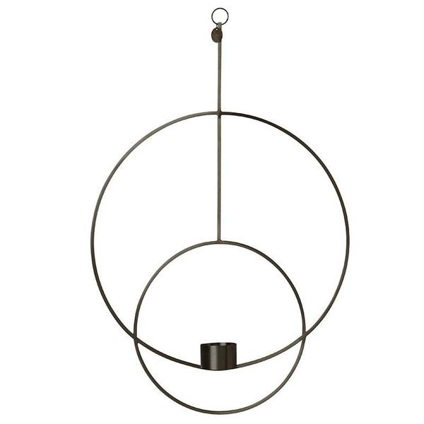 Ferm Living Hanging Brass Circular Tea Light