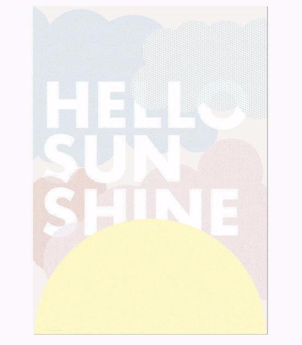 KIDS FRIDAY & TODAY Hello Sunshine Print