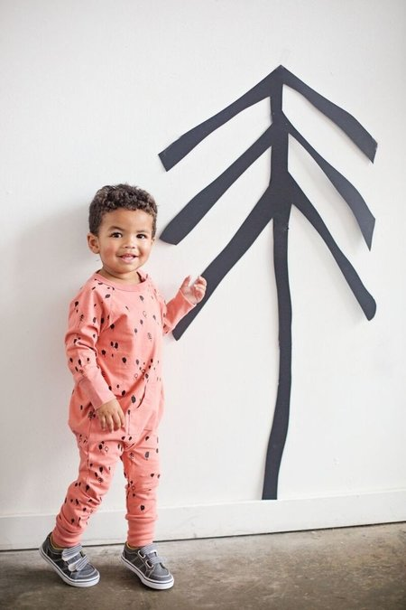 KIDS KID + KIND Jersey Forest Romper