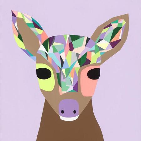 KIDS JUJUZOZO Lucy The Deer Print