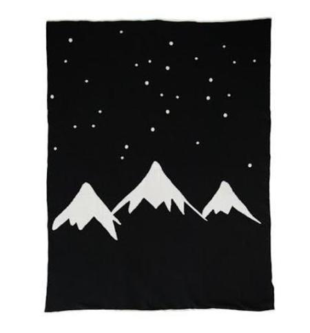 WHITE FOX & CO. Mountains Blanket