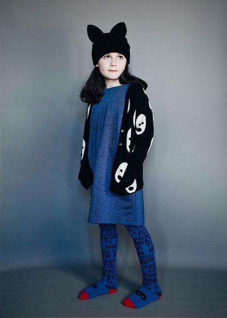 KIDS Beau Loves Oversized Sparkle Dress - BLUE