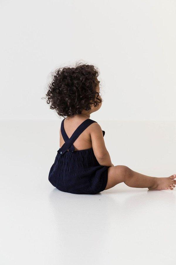 KIDS MARMAR Pusling Romper - BLUE
