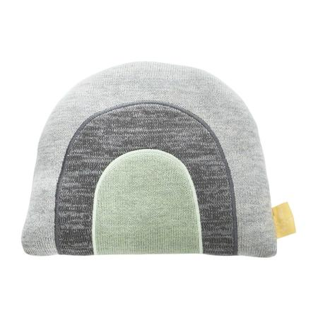KIDS OYOY SMALL Rainbow Cushion - GREY