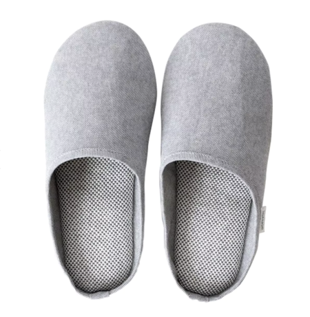 Morihata Sasawashi Japanese Room Shoes - Gray