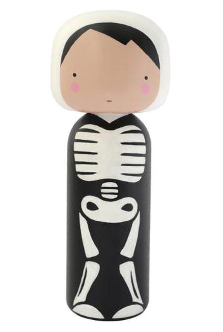 Kids Lucie Kaas Skeleton Kokeshi