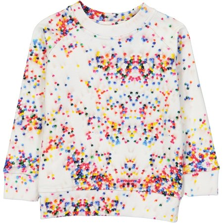 KIDS Romey Loves Lulu Sugar Dots Sweatshirt