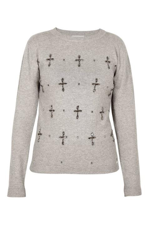 Banjo & Matilda Crucifix Crewneck Sweater