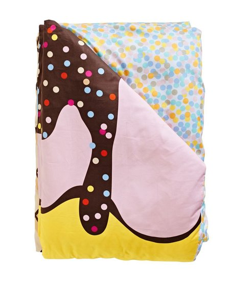 KIDS SACK ME Triple Sundae Reversible Duvet Cover