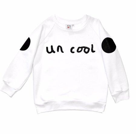 KIDS Beau Loves Uncool Jumper - WHITE