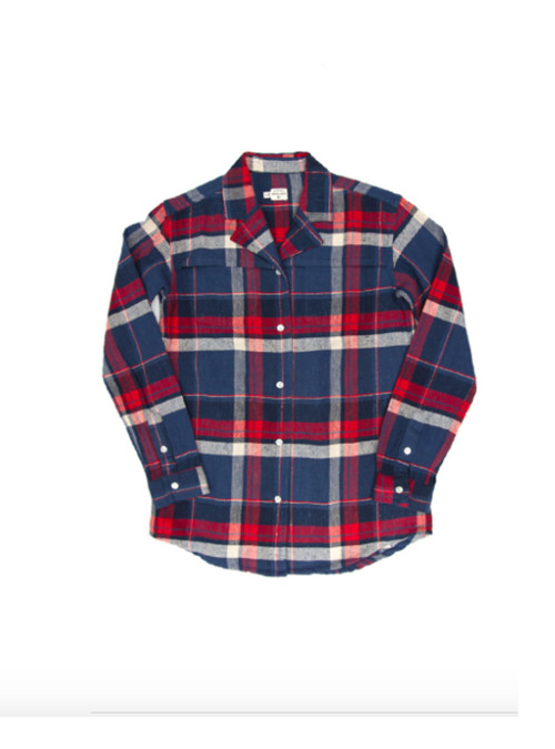 Bridge & Burn Paige Indigo Plaid