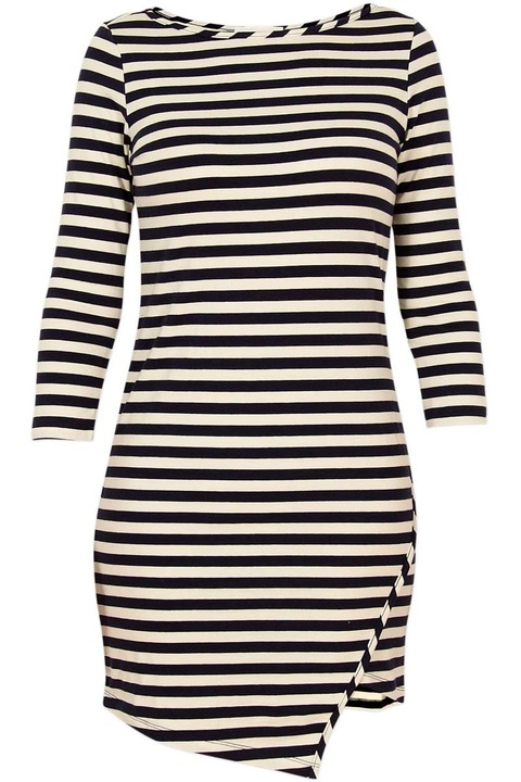 Amour Vert Kandy Striped Dress