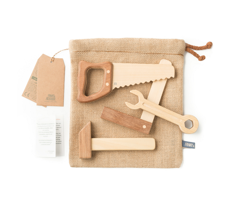 KIDS Fanny & Alexander Wooden Tool Set