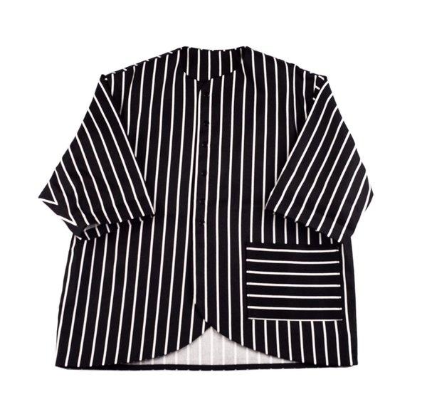 KIDS Meme Yuuki Shirt Jacket - STRIPES