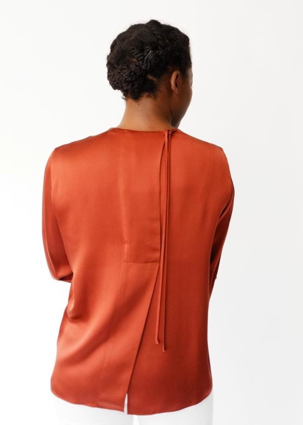 3acaaba4bef5 VINCE Tie Back Blouse | Garmentory