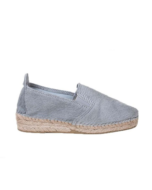 Prism Espadrilles in Grey Pony