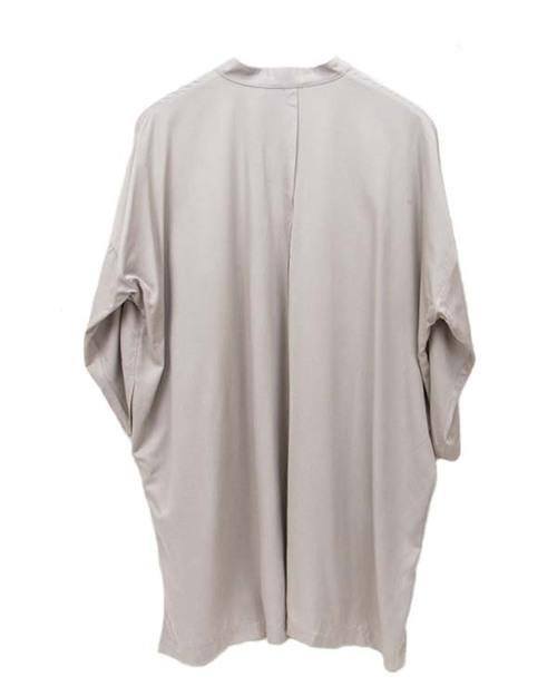 Shaina Mote Mesa Dress in Soft Ash Grey