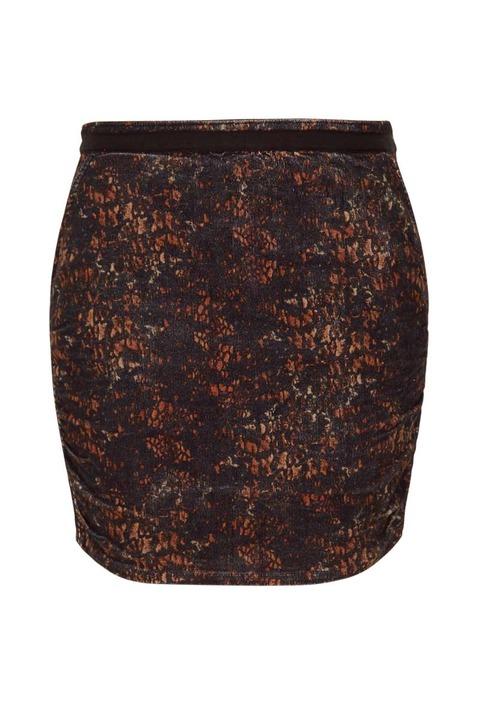 Valentine Gauthier Blue Road Skirt