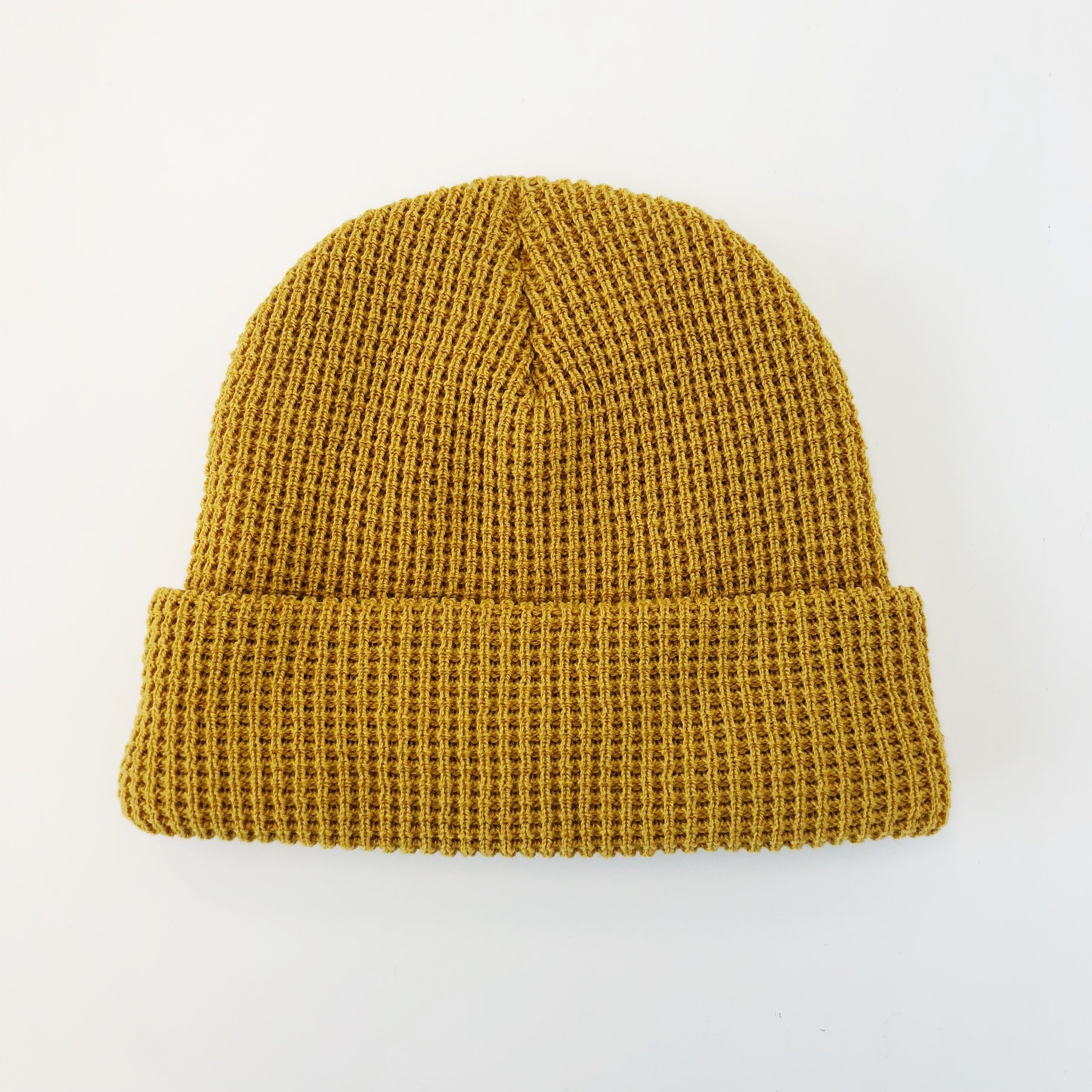 d8478adef Paa Cashmere Waffle Beanie - Mustard