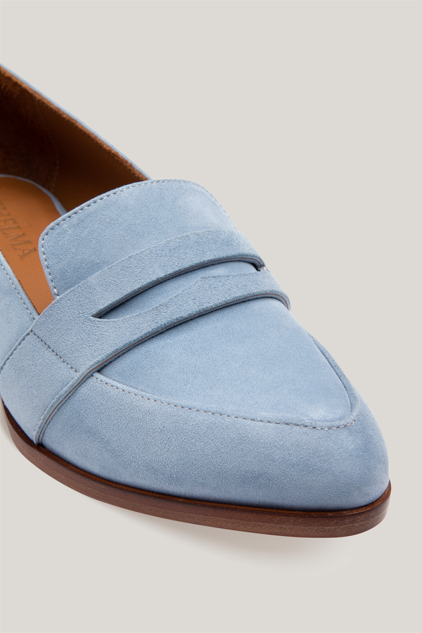 9299e3495fb Thelma The Penny Loafer - Powder