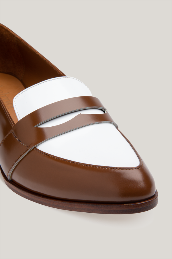 Thelma The Penny Loafer - Saddle Spectator