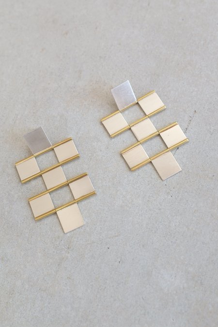 Hannah K Tile Earrings