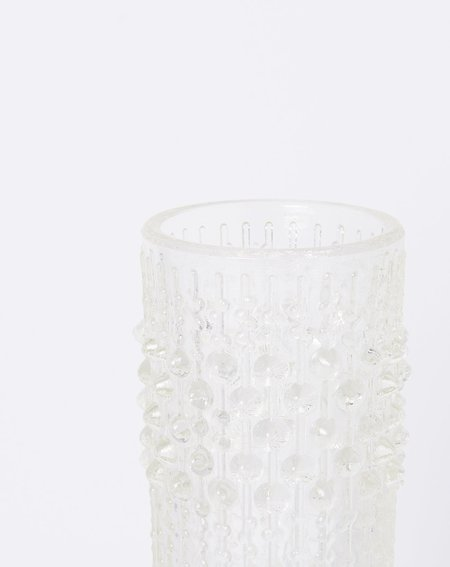 Covet + Lou Vintage Czech Glass Bubble Vase