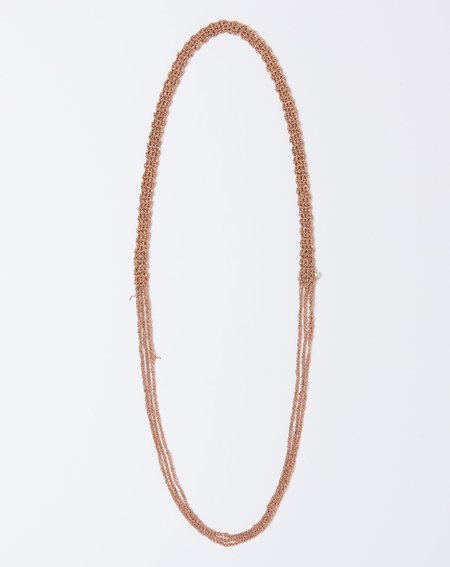 Arielle De Pinto The Slim Necklace - Rose Gold