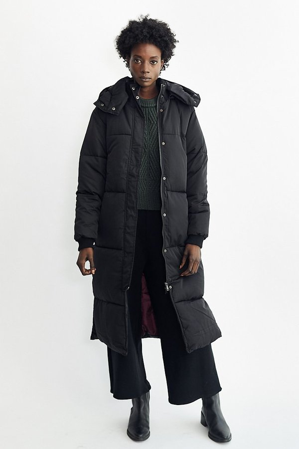 21b5525c4 Native Youth Liv Puffer Jacket - Black on Garmentory