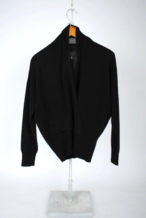 badb292763 Nili Lotan Lakota Cashmere Sweater - Black