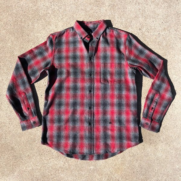 Levi's Made & Crafted Standard Shirt - Brushed Plaid
