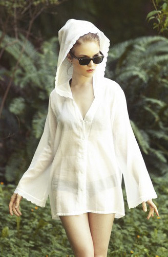 Salua Atelier Sunny Skies Nightshirt / Cover Up