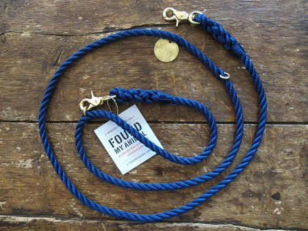 Found My Animal Adjustable Leash - Navy
