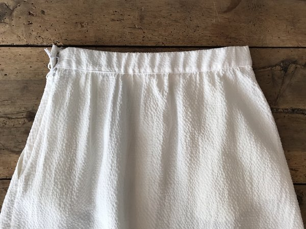 First Rite Pleated Skirt - White