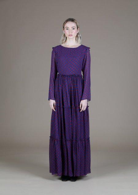 WHiT Veda Dress - Scribble Dot Print
