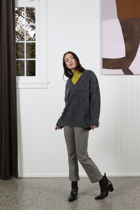 Ganni Callahan Sweater - Ebony