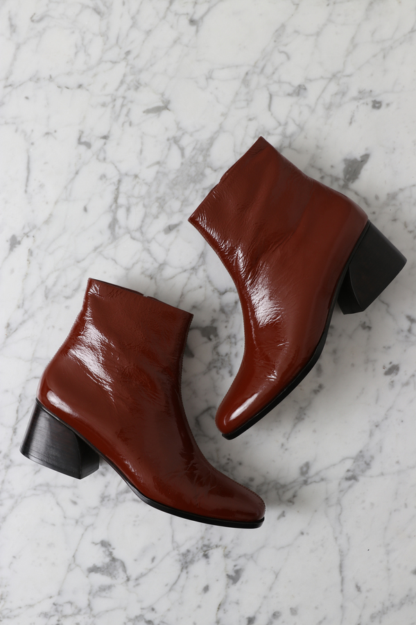 a5f8a9bae93 No.6 Jackson Ankle Boot - Tobacco Crinkle on Garmentory