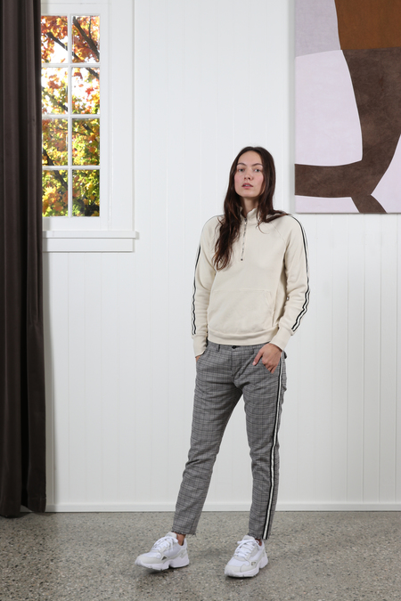 NSF Camila Pullover Sweatshirt - French Vanilla