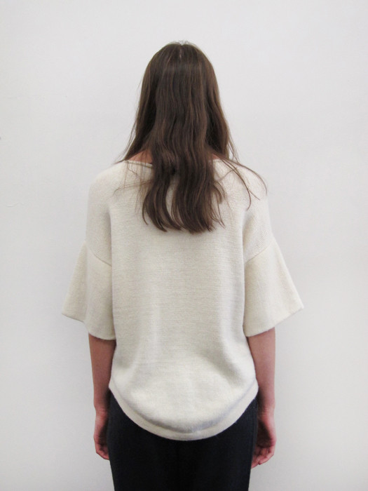 Lauren Manoogian Dovetail Pullover | White