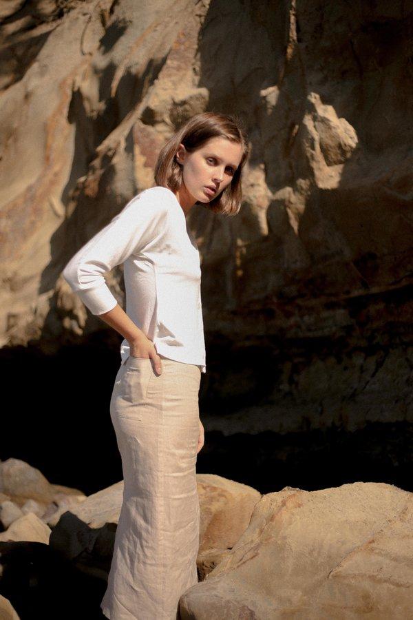 Mina Wanda Skirt - Natural