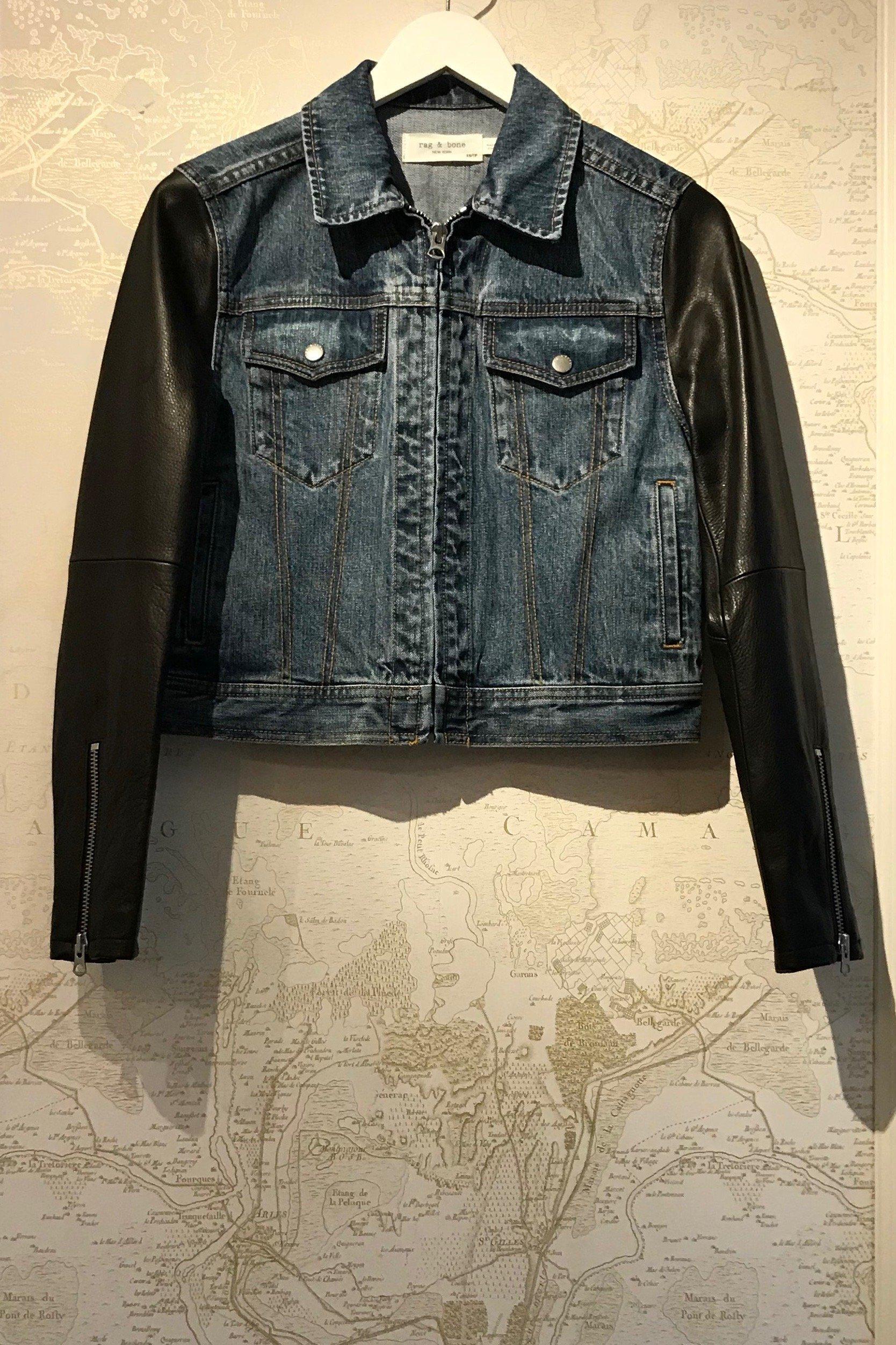 95e2c5e34 Rag & Bone Zip Nico Jacket