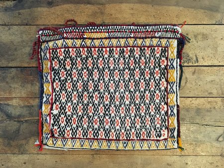 Nine Streets Vintage Kilim Saddle Bag