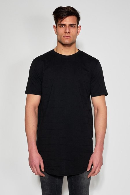 Antioch Embroidered T-Shirt - Black