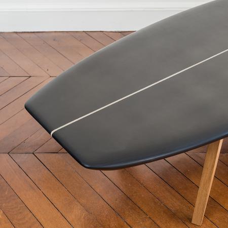 SALTY Surfboard Coffee Table - Black