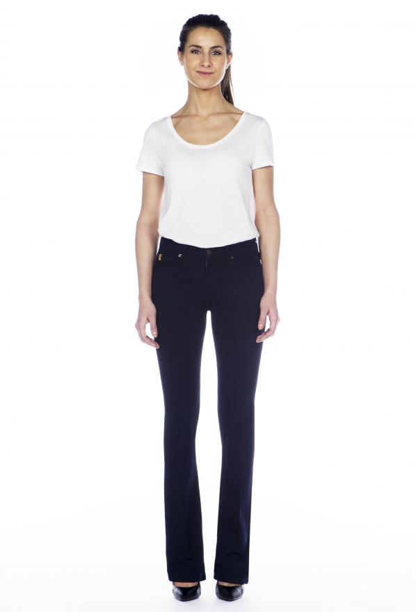 Second Yoga Jeans Shape High Rise Boot Cut Jeans